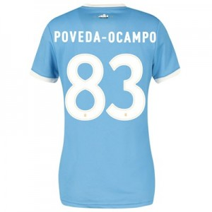 Manchester City 125 Year Anniversary Shirt - Womens with Poveda-Ocampo 83 printing