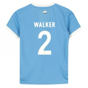 Manchester City 125 Year Anniversary Shirt - Kids with Walker 2 printing