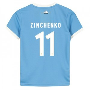 Manchester City 125 Year Anniversary Shirt - Kids with Zinchenko 11 printing