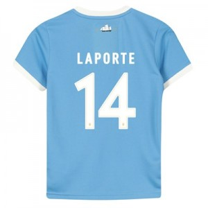 Manchester City 125 Year Anniversary Shirt - Kids with Laporte 14 printing