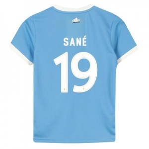 Manchester City 125 Year Anniversary Shirt - Kids with Sané 19 printing