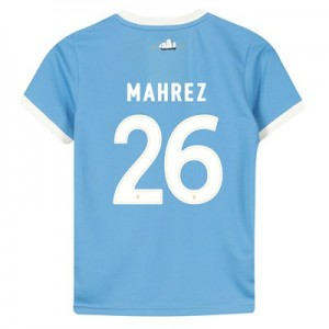 Manchester City 125 Year Anniversary Shirt - Kids with Mahrez 26 printing