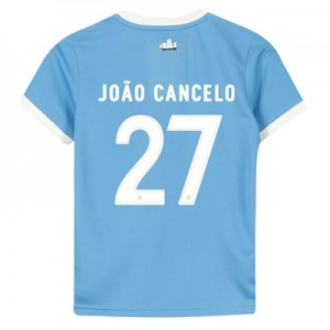 Manchester City 125 Year Anniversary Shirt - Kids with João Cancelo 27 printing