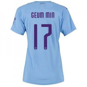 Manchester City Cup Authentic Home Shirt 2019-20 - Womens with Geum Min 17 printing