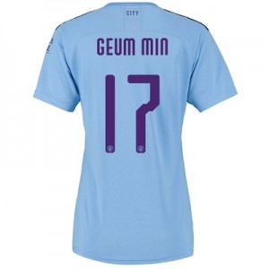 Manchester City Cup Home Shirt 2019-20 - Womens with Geum Min 17 printing