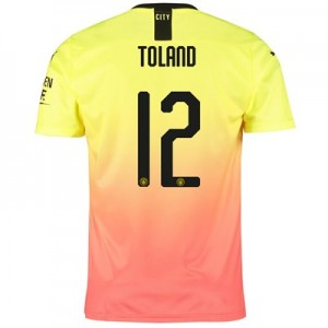 Manchester City Cup Third Shirt 2019-20 with Toland 12 printing