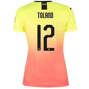 Manchester City Cup Third Shirt 2019-20 - Womens with Toland 12 printing