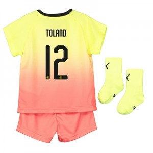 Manchester City Cup Third Baby Kit 2019-20 with Toland 12 printing