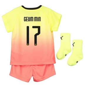 Manchester City Cup Third Baby Kit 2019-20 with Geum Min 17 printing