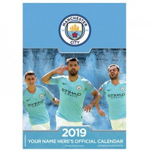 Manchester City 2019 Personalised Calendar