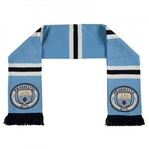 Manchester City Shader Scarf - Sky