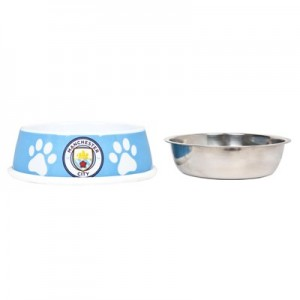 Manchester City Dog Bowl