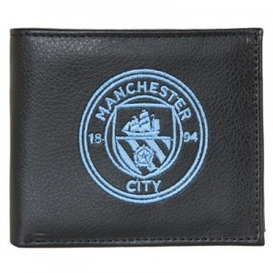 Manchester City Embroidered Crest Wallet