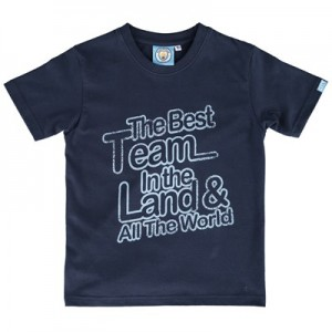 Manchester City The Best T-Shirt - Navy - Junior