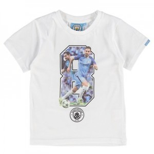 Manchester City Gundogan T-Shirt - White - Junior