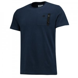 Manchester City Terrace Pocket T-Shirt - Navy