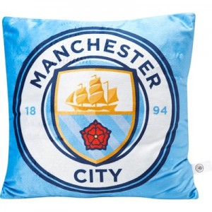 Manchester City Applique Square Cushion 40 x 40cm