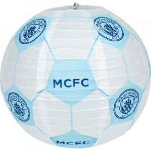 Manchester City Concertina Paper Light Shade 30cm
