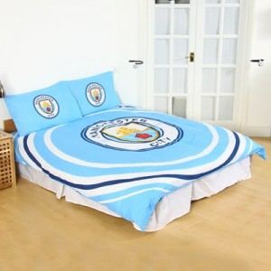 Manchester City Pulse Double Duvet