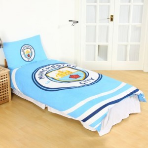 Manchester City Pulse Single Duvet