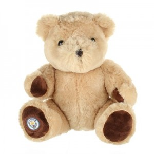 Manchester City Bear Soft Toy