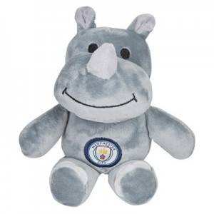 Manchester City Rhino Soft Toy