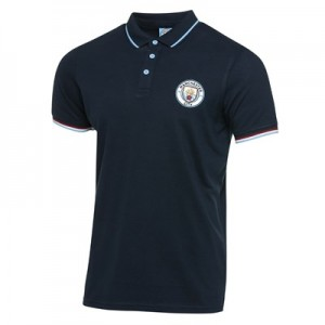 Manchester City Classic Polo - Navy