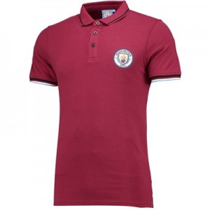 Manchester City Classic Polo - Maroon