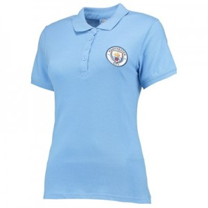 Manchester City Classics Polo - Sky - Womens