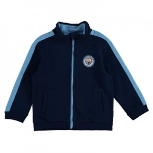 Manchester City Crest Track Top - Navy (2-7yrs)