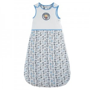 Manchester City Sleep Bag 2.5 Tog - Sky - Baby