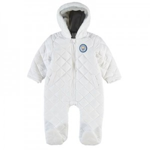Manchester City Snowsuit - White - Baby