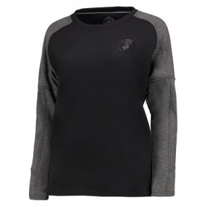 Manchester City Ath Tech Fleece Sweater - Black/Charcoal Marl - Womens