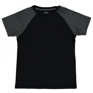 Manchester City Ath T-Shirt - Black/Charcoal Marl (6-13yrs)