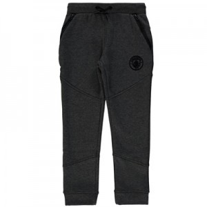 Manchester City Ath Tech Fleece Joggers - Charcoal Marl (6-13yrs)