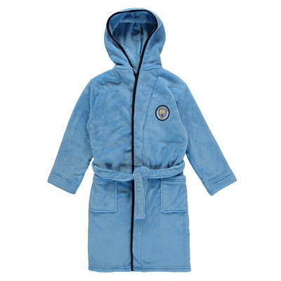 Manchester City Robe - Sky (2-13yrs)