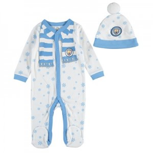 Manchester City Sleepsuit - Baby