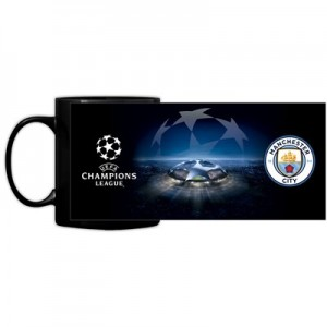 Manchester City UEFA Champions League Mug 11oz
