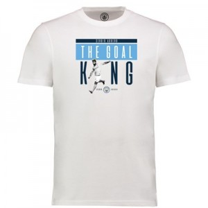 Manchester City Sergio Aguero - Goal King T - White - Womens