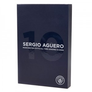 Manchester City Sergio Aguero Record Breaker Badge Set
