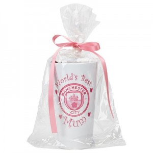 Manchester City World's Best Mum Hot Chocolate Gift Set