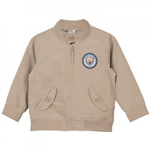 Manchester City Baby Bomber Jacket - Sand - Boys