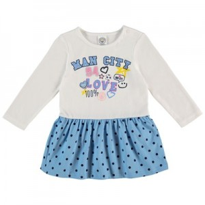 Manchester City Infant Love Man City Dress - Multi - Girls