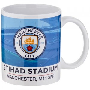 Manchester City Colour Stadium Mug