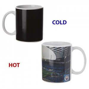 Manchester City Colour Stadium Heat Change Mug