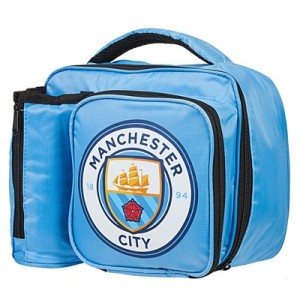 Manchester City Crest Lunch Bag with Bottle Holder