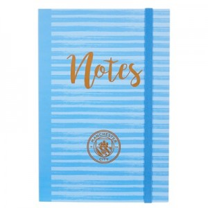 Manchester City Foil Notepad