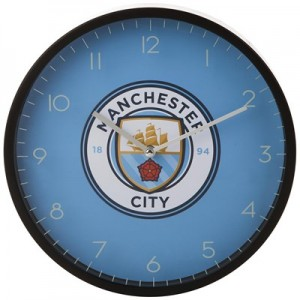Manchester City Wall Clock
