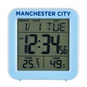 Manchester City Digital Alarm Clock