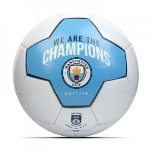 Manchester City We Are The Champions Football - Size 5
